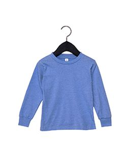 Youth Toddler Jersey Long Sleeve T-Shirt-Bella + Canvas
