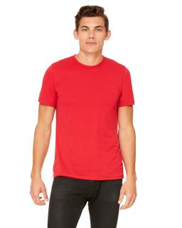 Unisex Poly-Cotton Short-Sleeve T-Shirt-