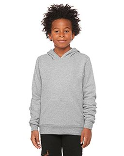 Youth Sponge Fleece Pullover Hooded Sweatshirt-Bella + Canvas
