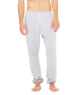 Unisex Sponge Fleece Long Scrunch Pant-Bella + Canvas