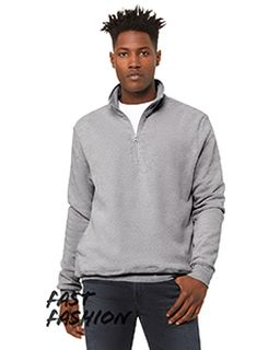 Fast Fashion Unisex Quarter Zip Pullover Fleece-Bella + Canvas