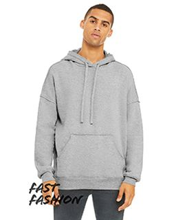 Unisex Raw Seam Hooded Sweatshirt-