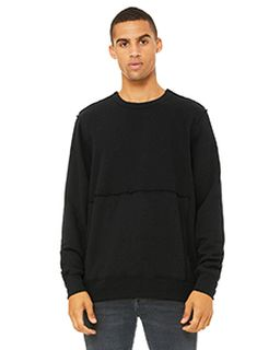 Fwd Fashion Unisex Raw Seam Crewneck Pullover-