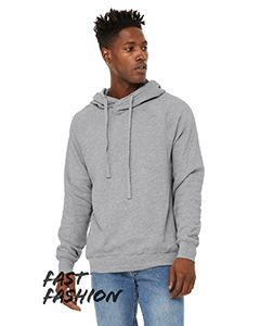 Fast Fashion Unisex Crossover Hoodie-Bella + Canvas