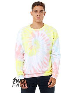 Fwd Fashion Unisex Tie-Dye Pullover Sweatshirt-