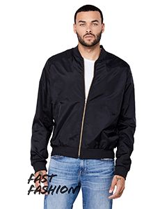 Fwd Fashion Unisex Lightweight Bomber Jacket-Bella + Canvas