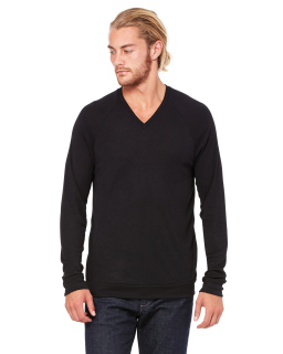 Unisex V-Neck Lightweight Sweater-Bella + Canvas