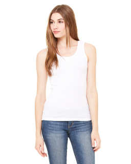 Ladies 2x1 Rib Tank-Bella + Canvas