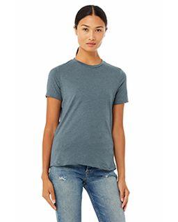 Ladies Relaxed Heather Cvc Short-Sleeve T-Shirt-
