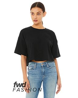 Fwd Fashion Ladies Jersey Cropped T-Shirt-