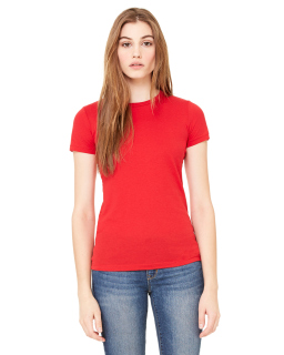 Ladie's Poly-Cotton Short-Sleeve T-Shirt