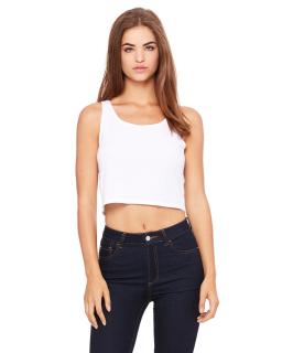Ladies Poly-Cotton Crop Tank-