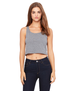 Ladies Poly-Cotton Crop Tank-