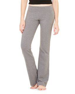 Ladies Cotton/Spandex Fitness Pant-Bella + Canvas