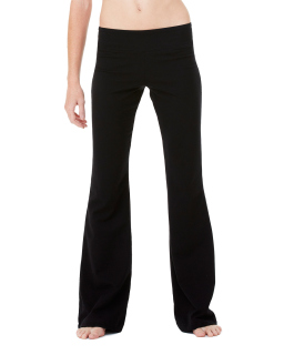 Ladies Cotton/Spandex Fitness Pant-