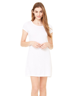 Ladie's Vintage Jersey Short-Sleeve T-Shirt Dress