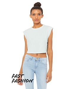 Fast Fashion Ladies Festival Cropped Tank-Bella + Canvas