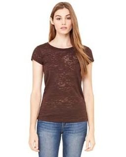 Ladies Burnout Short-Sleeve T-Shirt-