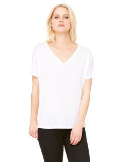 Ladie's Slouchy V-Neck T-Shirt