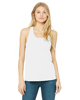 Ladies Jersey Racerback Tank-Bella + Canvas