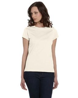 Ladies Organic Jersey Short-Sleeve T-Shirt-Bella + Canvas