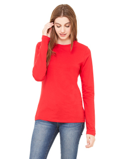 Ladies Jersey Long-Sleeve T-Shirt-