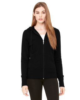 Ladies Stretch French Terry Lounge Jacket-Bella + Canvas