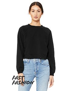 Fwd Fashion Ladies Raglan Pullover Fleece-