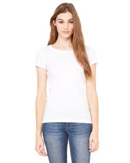 Ladie's Sheer Jersey Short-Sleeve T-Shirt