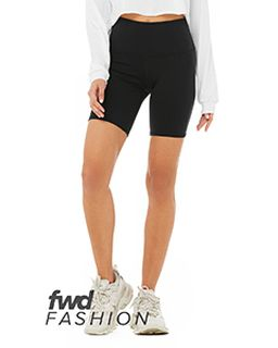 Fwd Fashion Ladies High Waist Biker Short-Bella + Canvas
