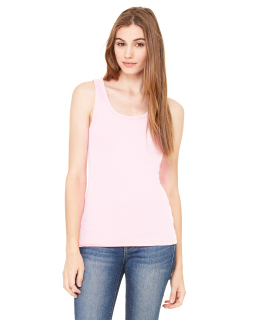 Ladies Sheer Mini Rib Tank-