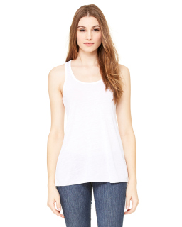 Ladies Flowy Racerback Tank-Bella + Canvas
