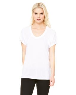 Ladies Flowy Raglan T-Shirt-