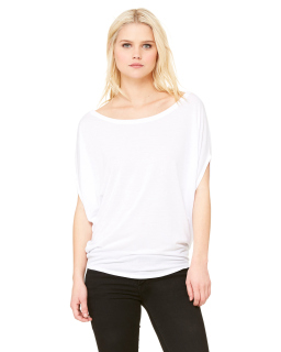 Ladies Flowy Circle Top-Bella + Canvas
