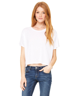 Ladies Flowy Boxy T-Shirt-Bella + Canvas
