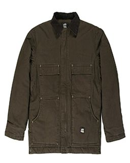 Mens Highland Washed Chore Jacket-