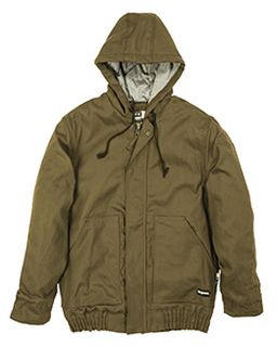 Mens Flame-Resistant Hooded Jacket-