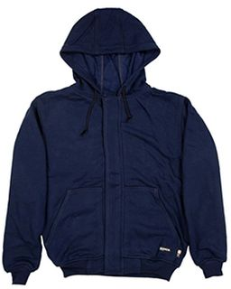 Mens Flame Resistant Full-Zip Hooded Sweatshirt-Berne