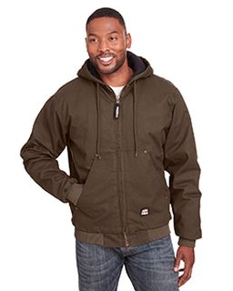 Mens Highland Washed Cotton Duck Hooded Jacket-