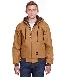 Mens Heritage Cotton Duck Hooded Jacket-