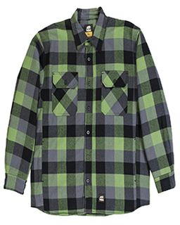 Mens Timber Flannel Shirt Jacket-