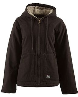 Ladies Softstone Hooded Coat-Berne