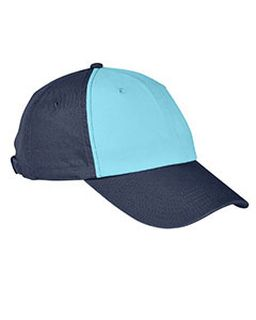 100% Washed Cotton Twill Baseball Cap-