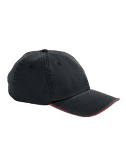 Washed Twill Sandwich Cap-