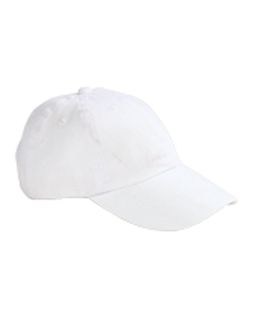 6-Panel Brushed Twill Unstructured Cap-