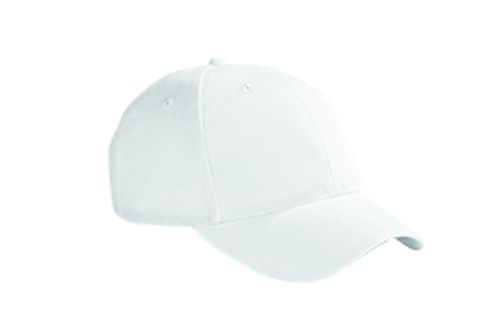 6-Panel Brushed Twill Structured Cap-