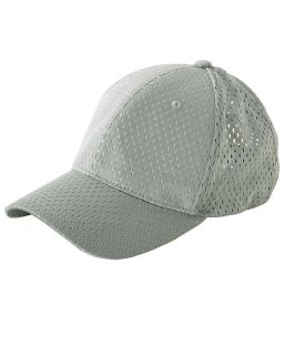 6-Panel Structured Mesh Baseball Cap-Big Accessories
