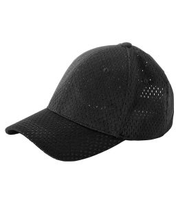 6-Panel Structured Mesh Baseball Cap-