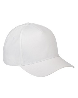 5-Panel Brushed Twill Cap-