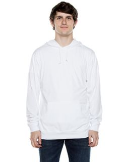 Unisex 4.5 Oz. Long-Sleeve Jersey Hooded T-Shirt-